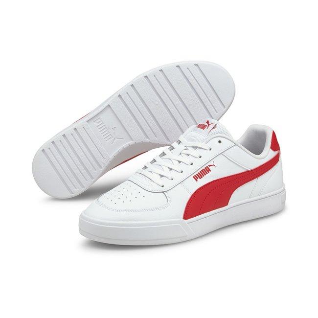 PUMA Caven boty, Barva: bílá, Materiál: syntetická kůže, guma, Sportovní volnočasové boty vám poskytnou perfektní komfort a oporu při nošení díky technologii SoftFoam+. - Objednejte nyní online na Pumashop.cz.