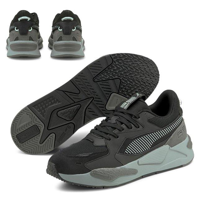 PUMA RS-Z College boty, Barva: černá, Materiál: mesh, useň, guma, Sportovní boty vyrobeny z vysoce kvalitního materiálu, jejichž podešev je vybavena speciální IMEVA pěnou a tím je zajištěn potřebný komfort a opora při nošení. Tyto boty nesmí chybět ve vašem botníku! - Objednejte nyní online na Pumashop.cz.