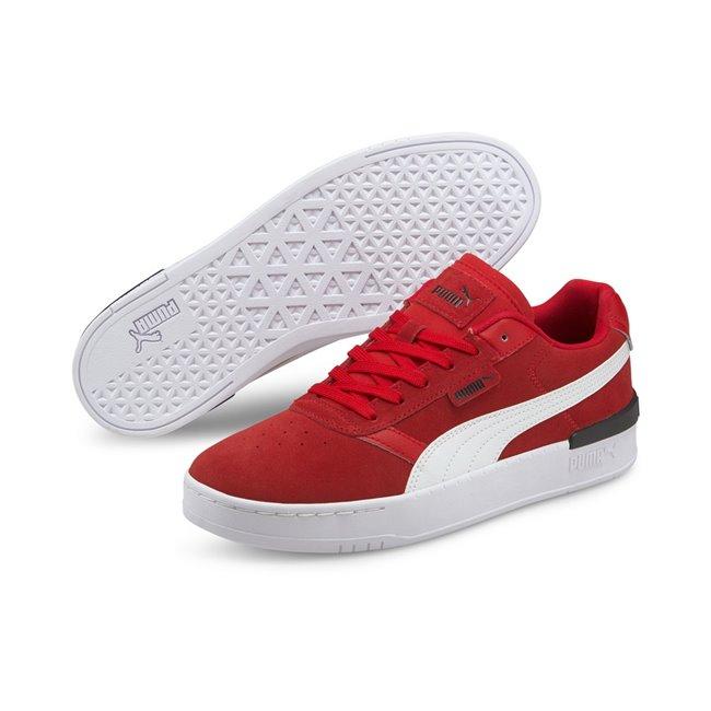 PUMA Clasico SD boty, Barva: červená, Materiál: useň, guma, Sportovní volnočasové boty vám poskytnou perfektní komfort a oporu při nošení díky technologii SoftFoam+. - Objednejte nyní online na Pumashop.cz.