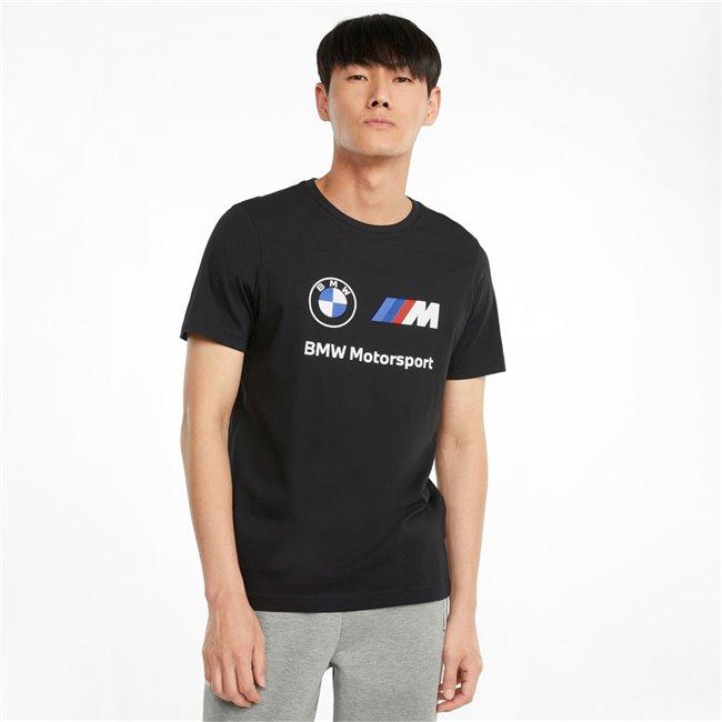PUMA BMW MMS ESS Logo Tee pánské tričko, Barva: černá, Materiál: bavlna, Sportovní, moderní triko z řady Motosport BMW vyrobeno ze 100% bavlny, které musí mít každý fanoušek BMW. - Objednejte nyní online na Pumashop.cz.