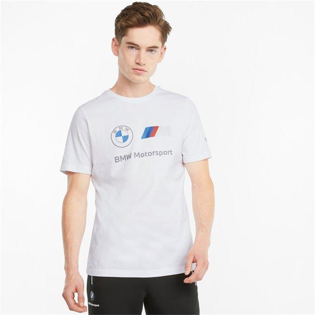 PUMA BMW MMS ESS Logo Tee pánské tričko, Barva: bílá, Materiál: bavlna, Sportovní, moderní triko z řady Motosport BMW vyrobeno ze 100% bavlny, které musí mít každý fanoušek BMW. - Objednejte nyní online na Pumashop.cz.