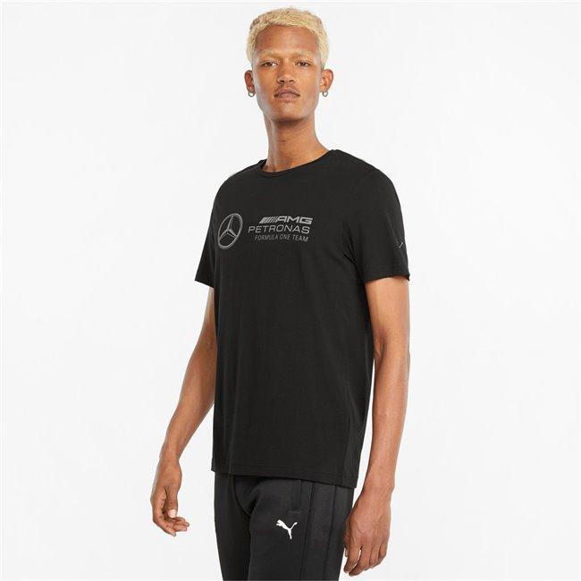 PUMA Mercedes MAPF1 Logo Tee pánské tričko, Barva: černá, Materiál: bavlna, Pánské moderní triko z řady Motosport, vyrobeno z vysoce kvalitního a měkkého materiálu. - Objednejte nyní online na Pumashop.cz.