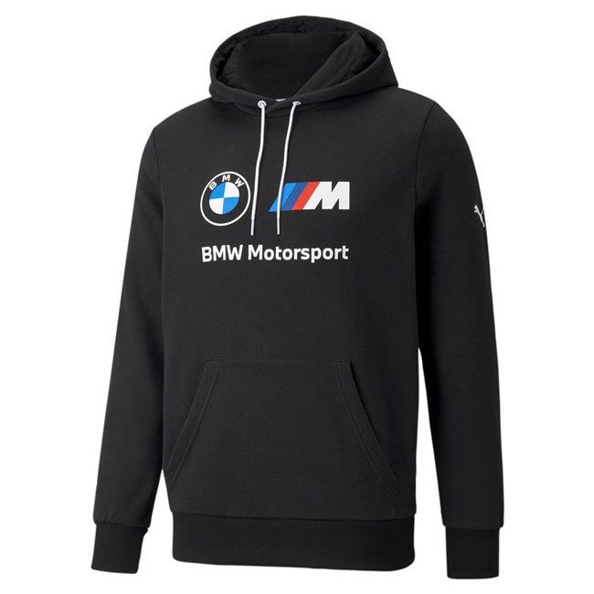 PUMA BMW MMS ESS Fleece Hoodie pánská mikina, Barva: černá, Materiál: bavlna, polyester, Sportovní, moderní mikina z řady Motosport BMW vyrobeno ze 100% bavlny, které musí mít každý fanoušek BMW. - Objednejte nyní online na Pumashop.cz.