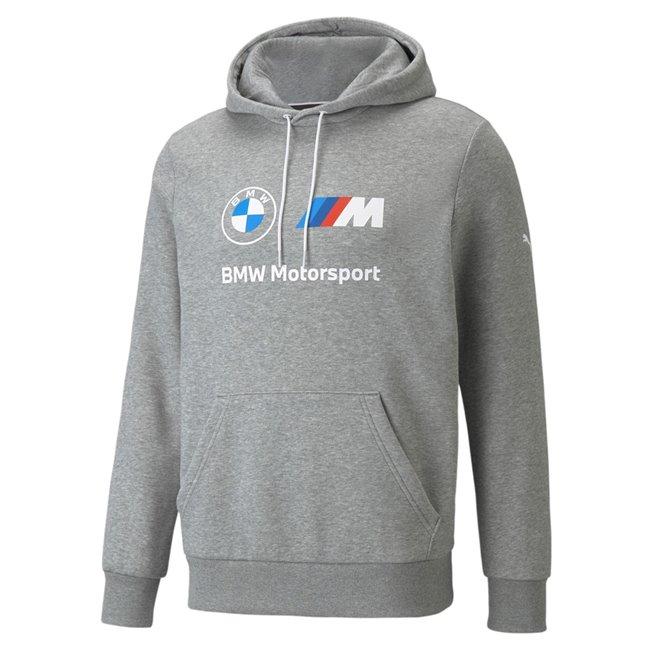 PUMA BMW MMS ESS Fleece Hoodie pánská mikina, Barva: šedá, Materiál: bavlna, polyester, Sportovní, moderní mikina z řady Motosport BMW vyrobeno ze 100% bavlny, které musí mít každý fanoušek BMW. - Objednejte nyní online na Pumashop.cz.