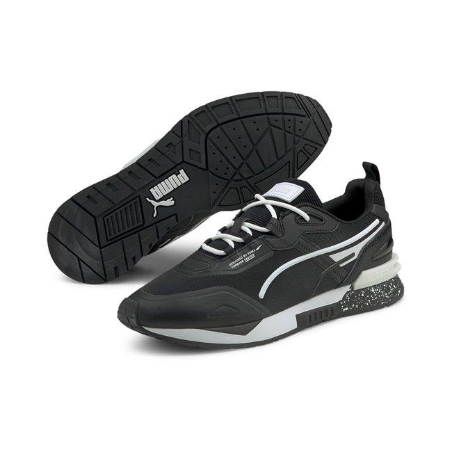 PUMA Mirage Tech Bubble boty, Barva: černá, Materiál: textílie, guma, Sportovní boty vyrobeny z vysoce kvalitního materiálu, jejichž podešev je vybavena speciální IMEVA pěnou a tím je zajištěn potřebný komfort a opora při nošení. Tyto boty nesmí chybět ve vašem botníku! - Objednejte nyní online na Pumashop.cz.
