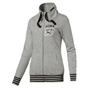 PUMA STYLE ATHL Sweat Jacket W dámská mikina na zip