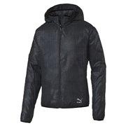 PUMA Evo Embossed Jacket pánská bunda s kapucí