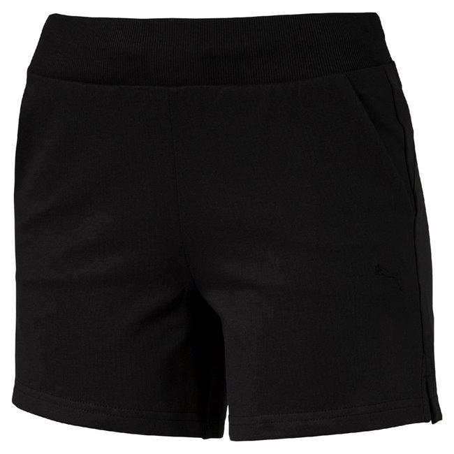 PUMA ESS Shorts W dámské šortky, Barva: černá, Materiál: 87% bavlna, 13% polyester - Objednejte nyní online na Pumashop.cz.