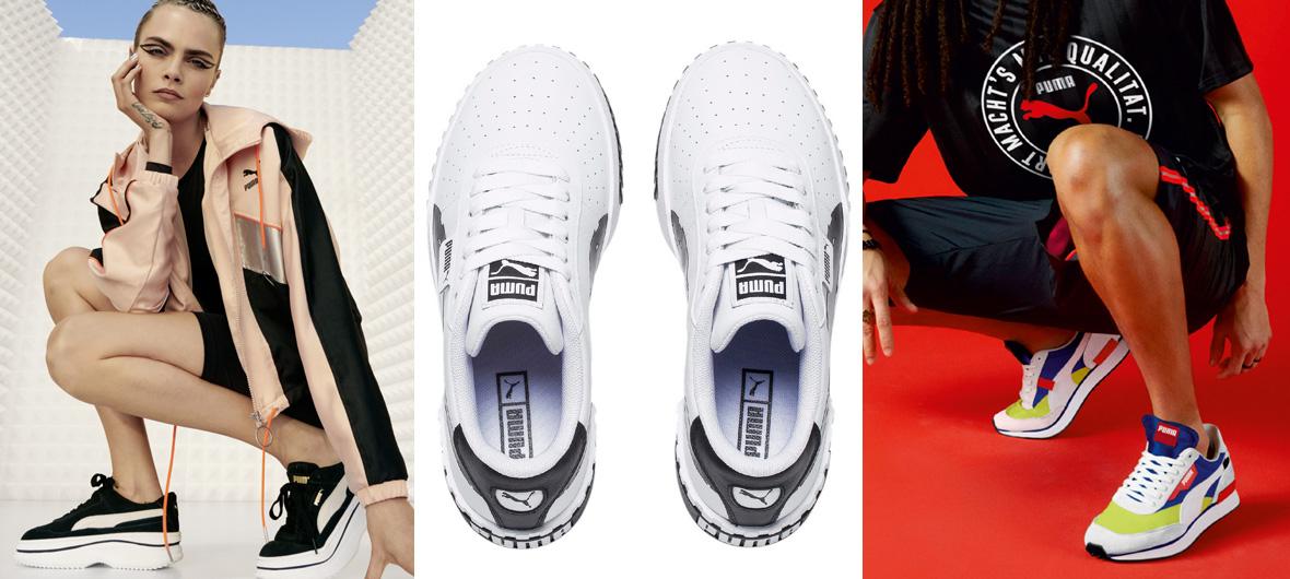 Jarní kolekce oblečení a obuvi PUMA